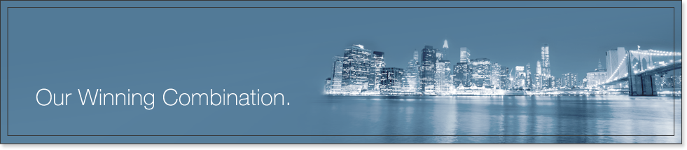 New York City skyline slider image